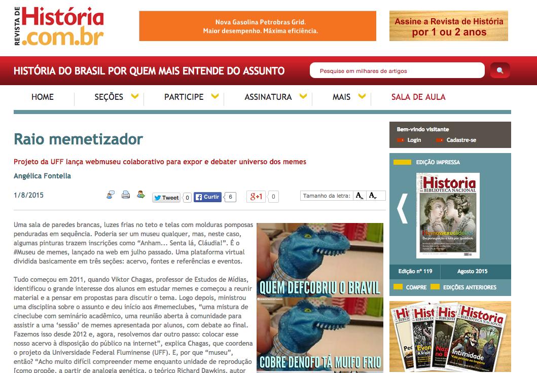 Revista de História BN