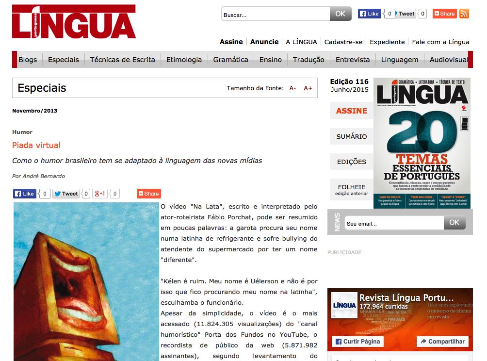 Revista Língua