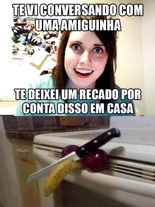 Namorada Sinistraoverly Attached Girlfriend Museudememes